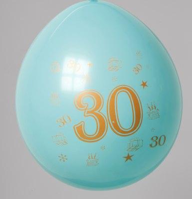 Cijfer Ballonnen Bont