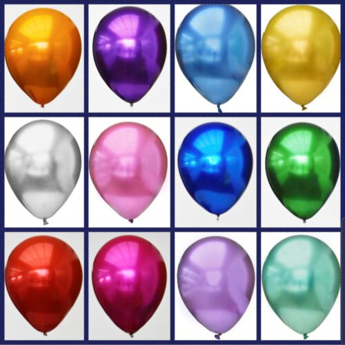 Chroom en Titanium Ballonnen