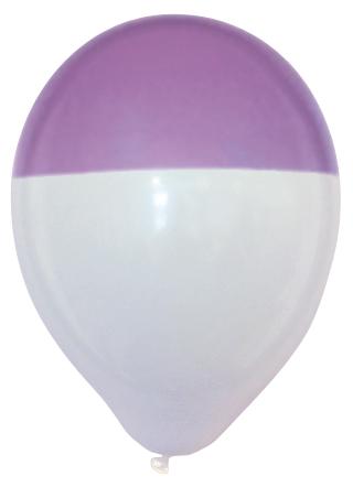 Bicolour ballonnen
