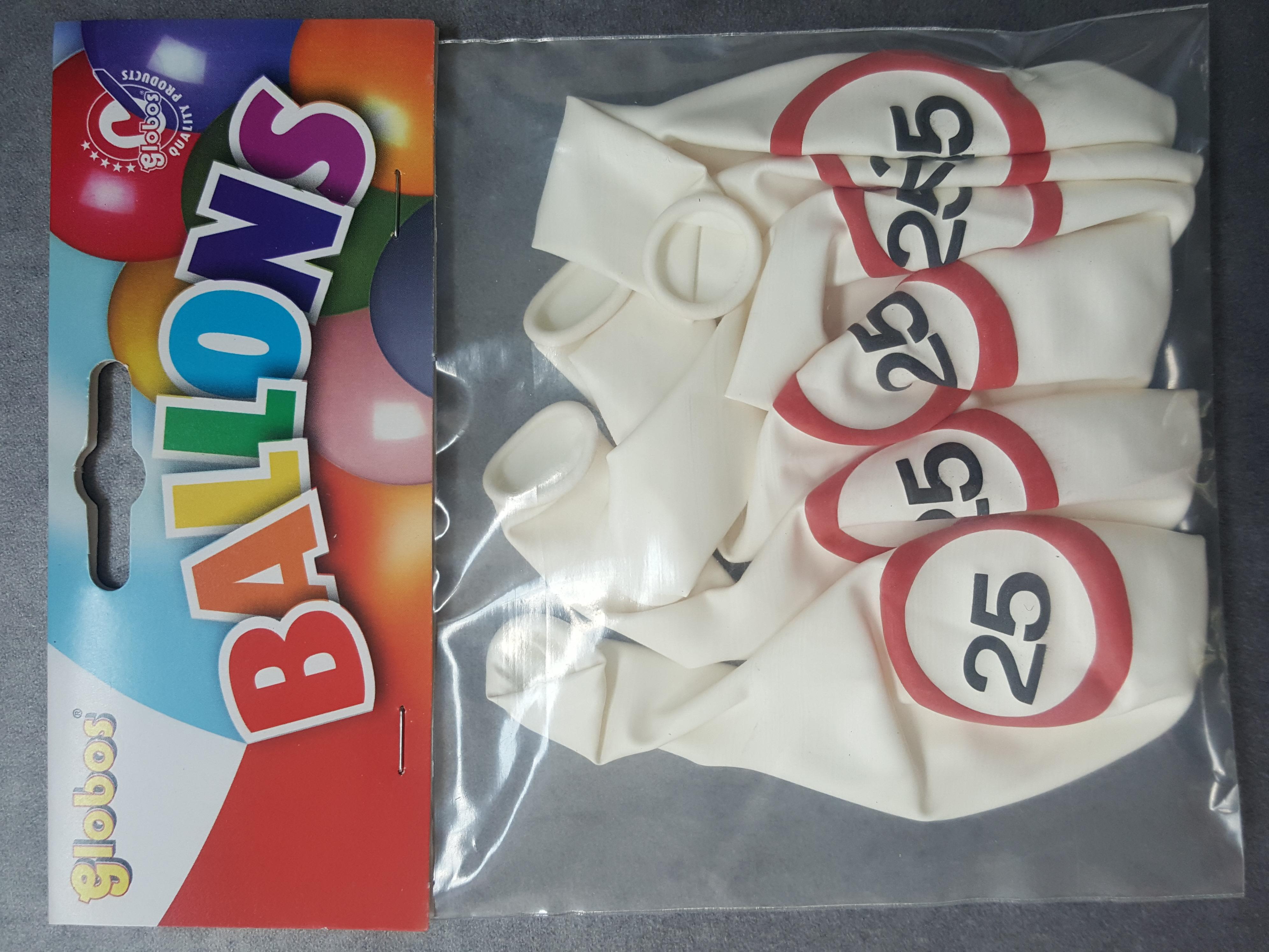Traffic cijfer ballonnen