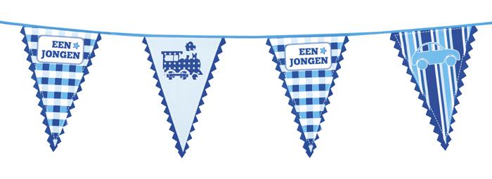 Geboorte Vlaggenlijnen
